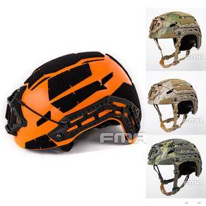 Taktischer Airsoft Caiman Ballistic Helm Paintball-Helm mit hohem Schnitt Aor1 Aor2 A-tac FG Orange