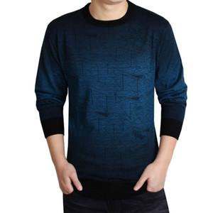 Pull en cachemire pour hommes Vêtements pour hommes Pulls Imprimer Accrocher Pye Casual Shirt Hommes Pull en laine Pull O Col Robe Vente chaude