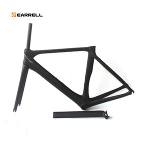 Carbon Road Bike Frame brompton Di2 y 50/53 / 56mm Super Light Fat bike Frame de bicicleta / cuadro de bicicleta