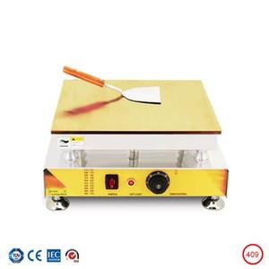 Souffle machine single pan Dorayaki machine commercial pancake maker thick copper plate Soufflé pan snack equipment