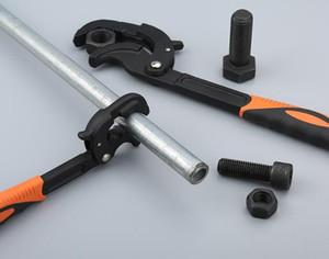 Multifunktionsschlüssel Universal Spanner Haushalt Sanitär Hand Repair Tools Rohrschelle High Torque Professionelle Rohrschlüssel Llave Inglesa