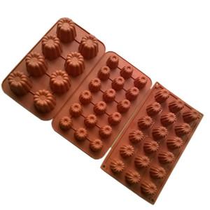 1шт инструменты для выпечки кондитерских силиконовые формы Canneles мини торт плесень антипригарным французского торта bakeware 8 - полость / 18-полость 28.5*17см