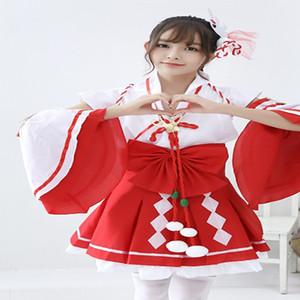 Anime de jeu mobile COS vêtements femmes kimono sorcière anime vêtements de jeu costumes de danse japonais mignon vêtements de performance de vacances