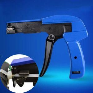 البلاستيك النايلون البريدي التعادل بندقية التوتر إبزيم أداة قطع السحابات قطع كابل التعادل التثبيت التوتير