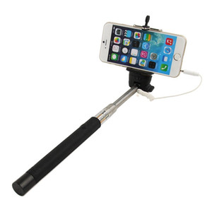 Extendable Focusing Monopod Selftimer Camera Selfie Sticks Extension Handheld + Mount For iphone for samsung Android phones