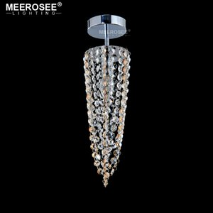 Kleine Kristallkronleuchter Gangflur Mini Crystal Light Lampe für Decken Korridor Cristal Lüster Licht Kronleuchter