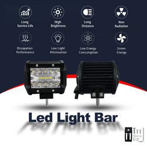 Frog Luce 4 pollici 60W Light Work DC striscia 9V-30V LED lampada del lavoro Rimontare Fuoristrada luce del tetto