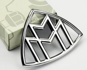 1 stücke Maybach Hood Emblem Heckabzeichen Stehen C E S Klasse