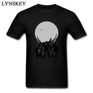 Destiny Gunslinger Imprimer T-shirt à manches courtes pour hommes Design fou Cool Tee Shirts 3XL Vêtements en ligne Guys Streetwear Noir