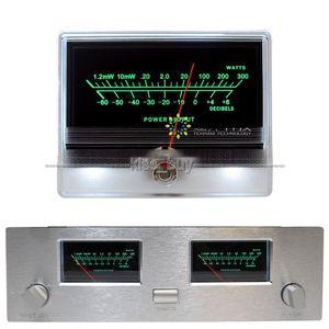 Freeshipping 1 UNIDS VU Panel Meter Indicador de Amplificador de Potencia de Audio Tabla DB Cabezal de Nivel de Nivel de Luz de Fondo
