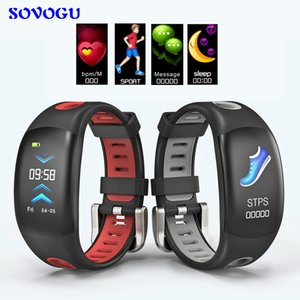 SOVO DM11 Cor LCD Inteligente Pulseira Bluetooth Rastreador de Fitness Pulseira de Freqüência Cardíaca IP68 À Prova D 'Água Pedômetro Relógio de Banda Inteligente