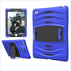 3 в 1 Мягкий робот силиконовый гибридный PC Hard Case Cover для New iPad9.7 10,2 10,5 Воздух / AIR2 Ipad Mini 123 Mini4 5