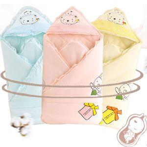 Coperta del sonno del bambino Bedding Con cappello Neonato caldo Comfort Baby Sacco a pelo Avvolgere per coperta invernale neonato