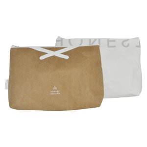 washable kraft paper clutch bag eco freindly recycle bag cosmetic bag madeup case handbags unisex welcome OEM order