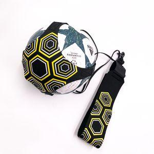 Balón de fútbol de calidad superior Solo Kick belt Entrenador Equipo de Entrenamiento Entrenador de fútbol cinético elástico estira la correa de voleibol