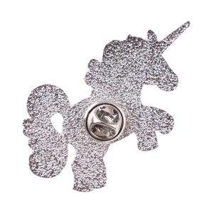 LASPERAL мода эмаль Pin иконки броши для женщин мультфильм Единорог фламинго булавки брошь 3D печати брошь ювелирные изделия