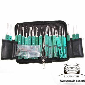 Original klom 32 pcs lock pick ferramenta picareta superior definir ferramentas de serralheiro frete grátis