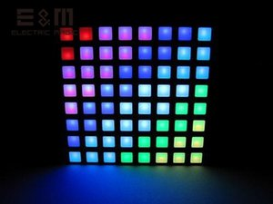 EM 16777K Farbe Platz Dot Matrix RGB LED-Anzeige Colorduino STM 6 cm 8 * 8 Pixel IDE Brennen Gemeinsame Anode Modul