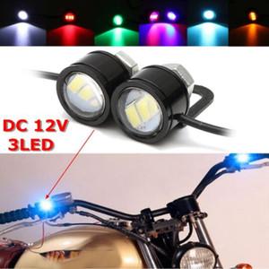 2шт светодиодный Орлиный глаз лампа строб вспышка DRL велосипед мотоцикл автомобиль ATV свет