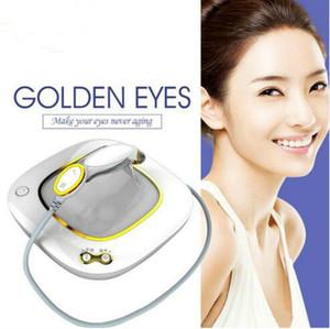 Alta qualidade !!! Olhos dourados Eliminar Caring Rugas beleza dos olhos e Ark círculos rugas remoção RF Eye Massager Máquina CE / DHL