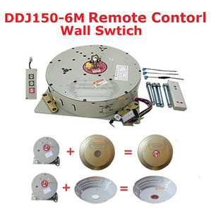 Automatico telecomandato paranco lampadario di cristallo paranco di sollevamento elettrico verricello elettrico sistema di sollevamento della lampada motore DDJ150-6m cavo