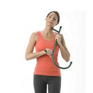 Canne Retour Crochet massage du cou auto bâton pression musculaire outil Manuel Trigger Point d'origine Point de massage Rod