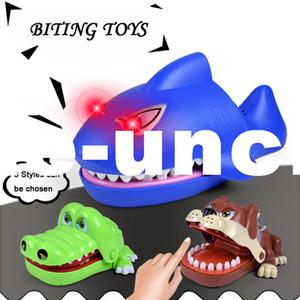 AUTOPS Spaß Spielzeug Shark Bulldog Crocodile Zahnarzt Biss Finger Spiel Croco Lustige Novetly Krokodil Zähne Spielzeug Für Kinder Geschenk