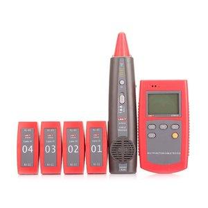 UNI-T UT681A кабель Finder Set сетевой тестер охота инструмент проверить линию устройства петля сопротивление тест провод последовательность сканирования