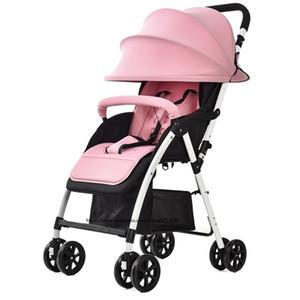 2017  baby stroller , Four colour four wheels single seat, fashion style , foldable stroller, Light stroller