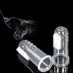 1PCS Hot Super Soft Pet Finger Zahnbürste Teddy-Hundebürsten Mundgeruch Zahnpflege Hund Katze Reinigungsbedarf Hundezubehör