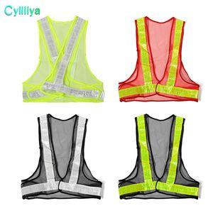 Trafik İnşaat Güvenliği Güvenlik Dişli İşçi Giyim Mesh Uyarı Sıcak Satış Açık Yüksek Görünürlük Reflektif Yelek