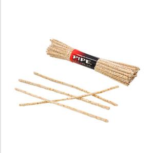 Limpa e limpa piteira tubo de raiz de ferramentas, bar escova de tabaco.