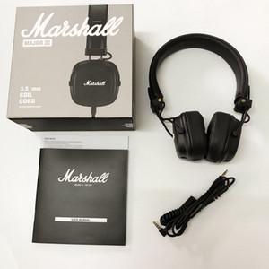 مارشال ماجور III 3.0 سلكية سماعات دي جي سماعة ديب باس عزل الضوضاء سماعة سماعة ل XR فون سامسونج الهاتف الذكي