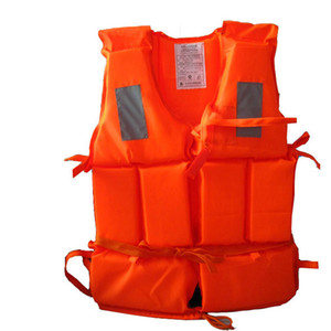 Professional Adult Working Life Jacket + Whistle Foam Vest Survival Suit Outdoor Swimwear Water Sport Swimming Drifting Fishing