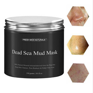 Dead Sea Mud Mask Deep Cleaning Black Mask Hydrating Acne Blemish Clearing Lightening Moisturizer Nourishing Pore Face Cleaner