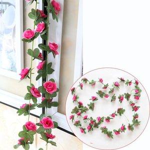 Mini Rosen Simulation Blumen Rohr Dekor Praktische Mode Künstliche Blume Gefälschte Blumen Reben Kunststoff Gute Verkauf 4 78nx ii