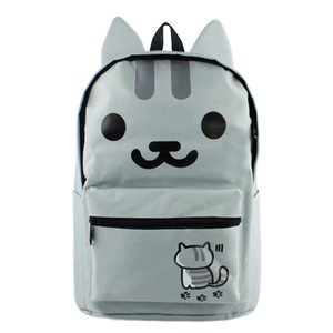 Neko Atsume Cosplay Anime Backpack My Neighbor Totoro Outdoor Casual Bag ONE PIECE Travel Bag for Gift