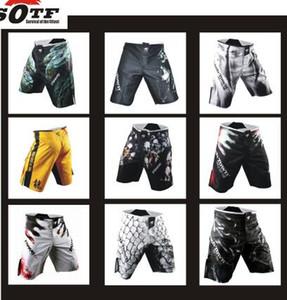Sotf 2015 Nova Mma Shorts De Boxe Mens Mma Muay Thai Luta De Boxe Shorts Artes Marciais Mistas Esporte Troncos Muay Calças Free Shopping
