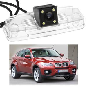 BMW X6 2009-2016 E71 F16 Yeni 4 LED Araç Geri Görüş Kamerası Ters Yedekleme CCD uyum