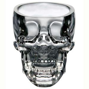 Кристалл череп голова водка Рюмка Кубок Поиск Главная бар стеклянная чашка кружка пиво вино Кристал стеклянная чашка (прозрачный) 73 мл