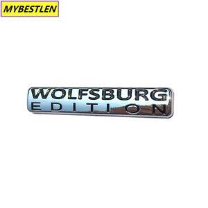 GR-EB30 WOLFSBURG EDITION ABS Chrome Car Rear Badge Emblem for VW Passat Jetta TDI Golf GTI Sticker car styling