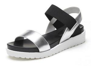 2018 Новый горячие продажи сандалии женщины лето скольжения на обувь Пип-toe плоские туфли римские сандалии Mujer сандалии дамы шлепанцы сандалии