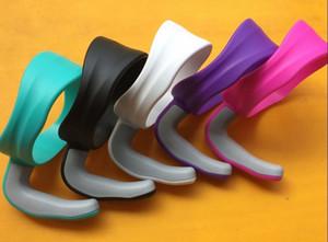 2018 NUEVOS colores Manijas de una sola capa de 30 onzas para Coolers Cup 30 Onzas Holder para tazas de acero inoxidable 5 colores en stock