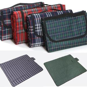 150 * 180 см многофункциональный подушка открытый пляж пикник складной кемпинг коврик влагостойкий водонепроницаемый спальная подушка плед одеяло WX9-332
