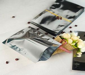 Bolso plano plástico del papel de aluminio de la plata del envío libre - 200pcs / lot bolsillo del ping, 6x9cm que aluminiza el paquete del mylar del empaquetado del sésamo del paquete de mylar