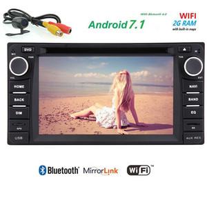 Android 7.1 TOYOTA Corolla 1080 P için Çift Din Araba Stereo 1080 P Video Oynatma Monitör Araba DVD Oynatıcı dash GPS Autoradio Kafa Ünitesi