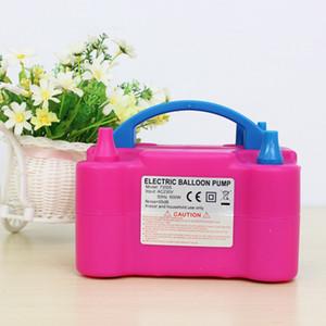 Ventilateur portatif de la pompe de gonflage de ballon électrique de pompe de ballon électrique gonflable à double trou de 220V ou de 110V AC