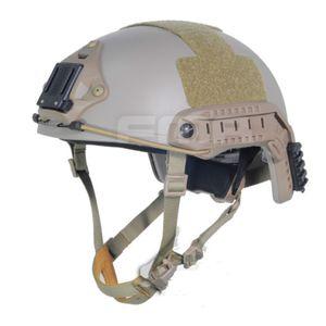 Taktische ballistische Aramidfaserversion High Cut Helm DE M-XL