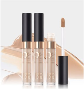 2018 New Beauty Glazed Liquid 3D Facail Concealer Highlighter Liquid Glow Make Up Concealer Shimmer Face Glow 3 Colors DHL Free Shipping
