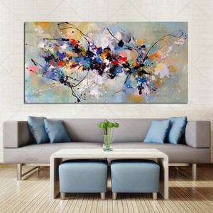 Лучший новый картина живопись абстрактные картины маслом на холсте 100% ручной работы красочные холст искусство современное искусство для дома декор стен